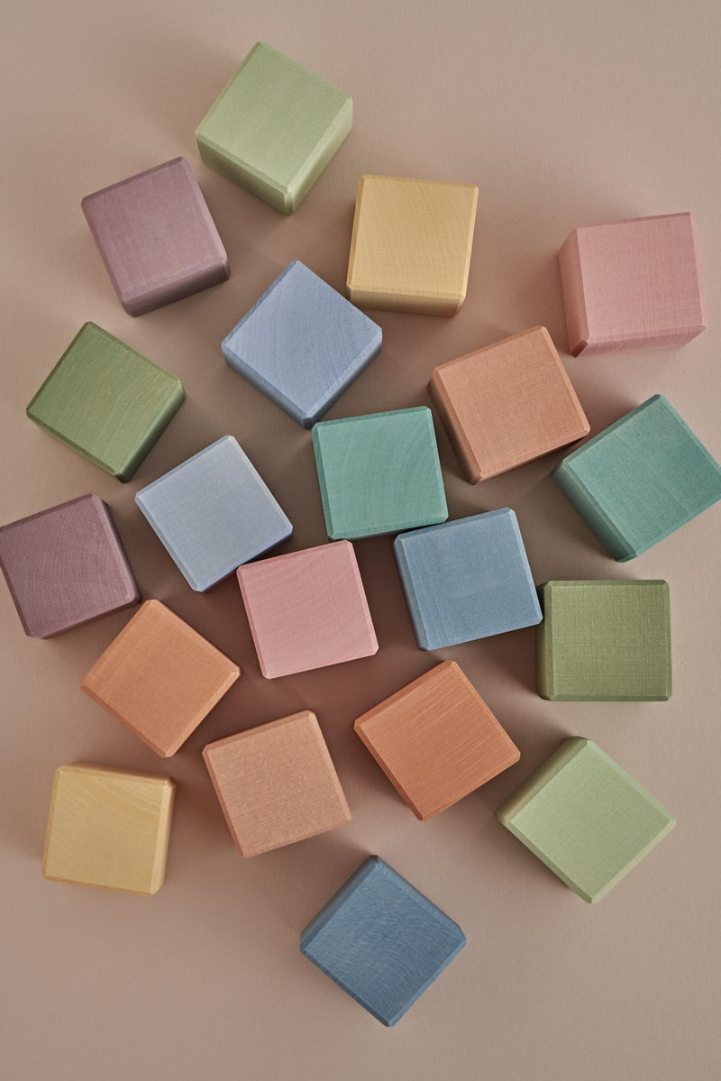 Pastel Earth Cube Set - Chicke