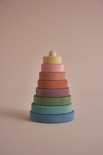 Pastel Earth Stacker - Chicke