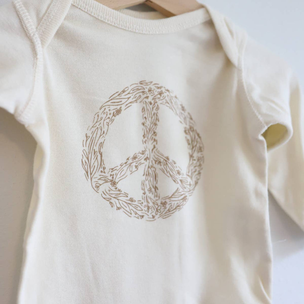 Give Peace a Chance Bodysuit - Chicke