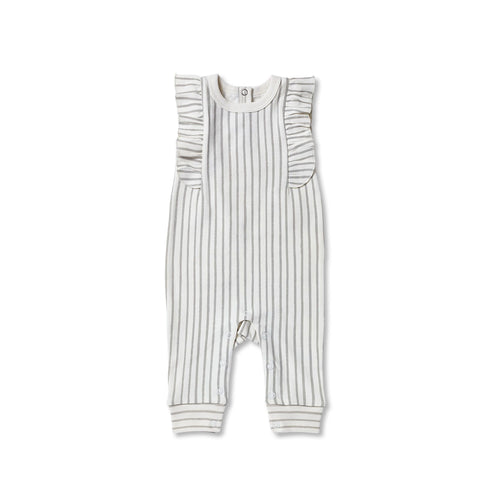 Sleeveless Romper - Pebble - Chicke