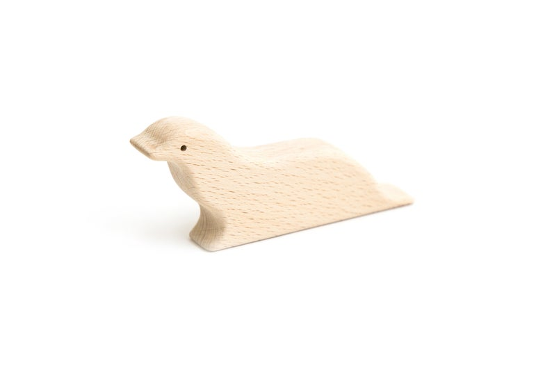 Handmade Wooden Seal - Chicke