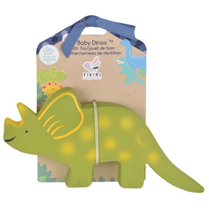 Triceratops Natural Rubber Toy