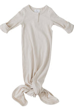 Load image into Gallery viewer, Organic Cotton Ribbed Gown - Vanilla - Chicke