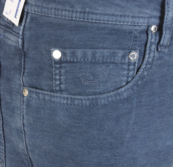 622 Blue Brushed Cotton Jeans