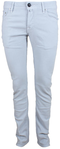 622 Light Grey Brushed Cotton Jeans