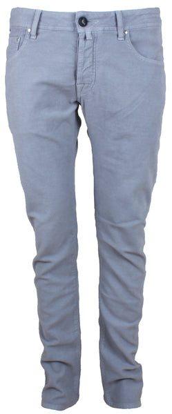 622 Grey Brushed Cotton Jeans
