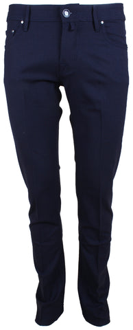 622 Navy Flannel Trouser
