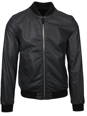Compiano Reversible Leather Bomber Jacket