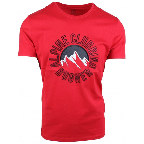 Alpine Clubbing T Shirt Red