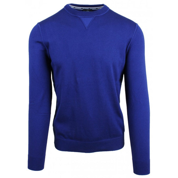 Royal Blue Performance Cotton Sweatshirt