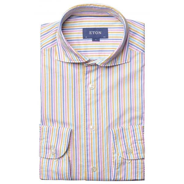 Soft Twill Multi Stripe Shirt