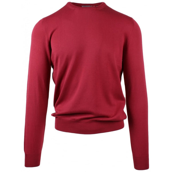 Cotton Crew Neck Strawberry Red