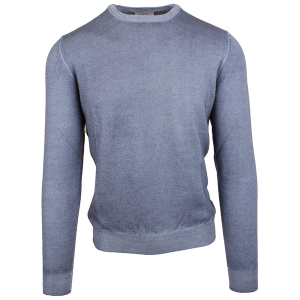 Grey Vintage Yarn Crew Neck