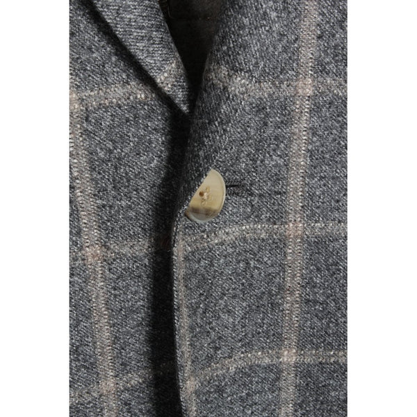 Grey Window Pane Delfino Scooter Jacket