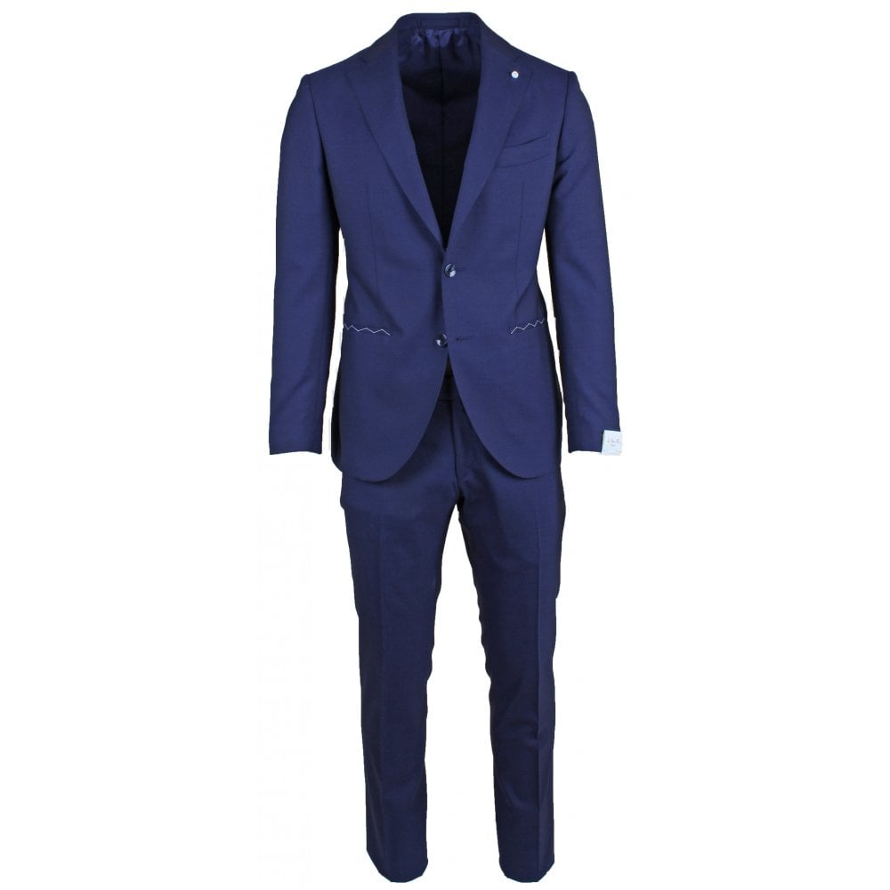 Loro Piana Royal Blue Suit