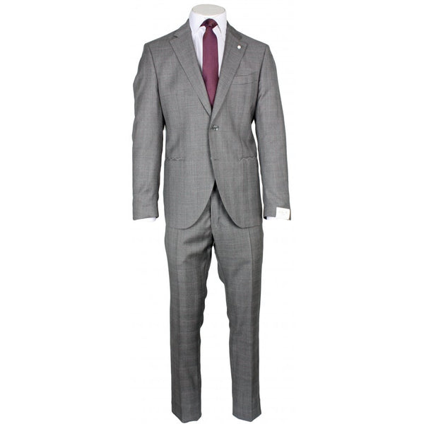Delfino Prince Of Wales Check Suit