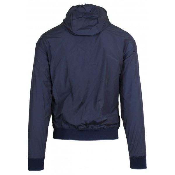 Dennys Lightweight Reversible Hooded Bomber Jacket