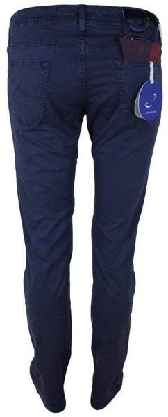 622 Navy Luxury Drill Cotton Trouser