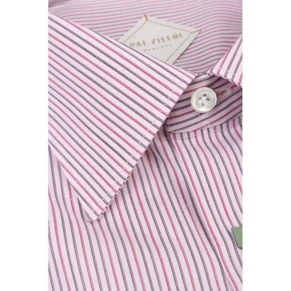 Pink Pin Stripe Shirt