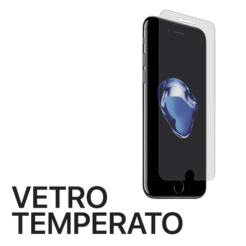 Vetro temperato iPhone 6 Plus 7 Plus 8 Plus - Officina Italia Srls