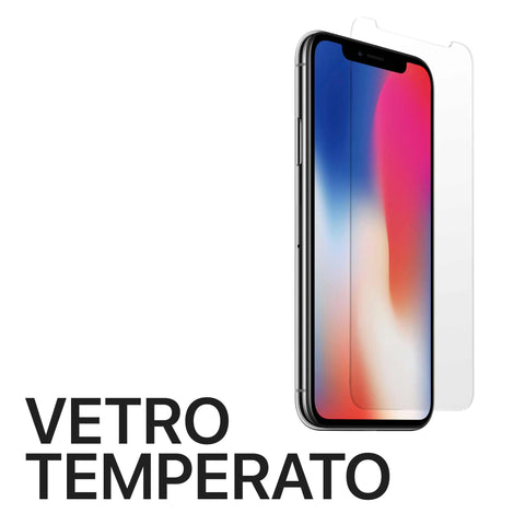Vetro temperato iPhone X Xs - Officina Italia Srls