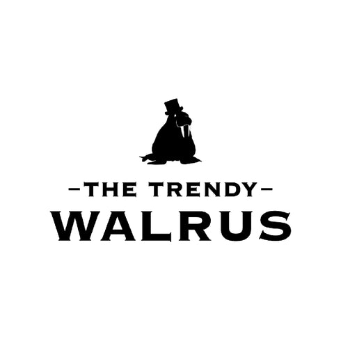 The Trendy Walrus logo with text