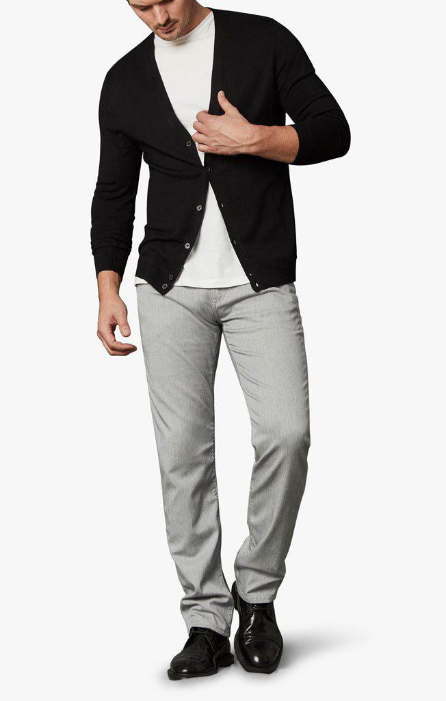 34 Heritage Cool Slim Leg Jeans in Grey Cashmere-The Trendy Walrus