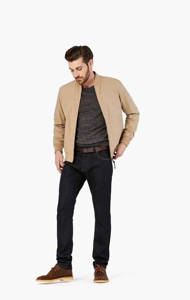 34 Heritage Courage Straight Leg Jeans in Midnight Rome-The Trendy Walrus
