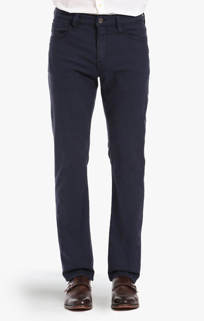 34 Heritage Courage Straight Leg Pants in Navy Fine Twill-The Trendy Walrus
