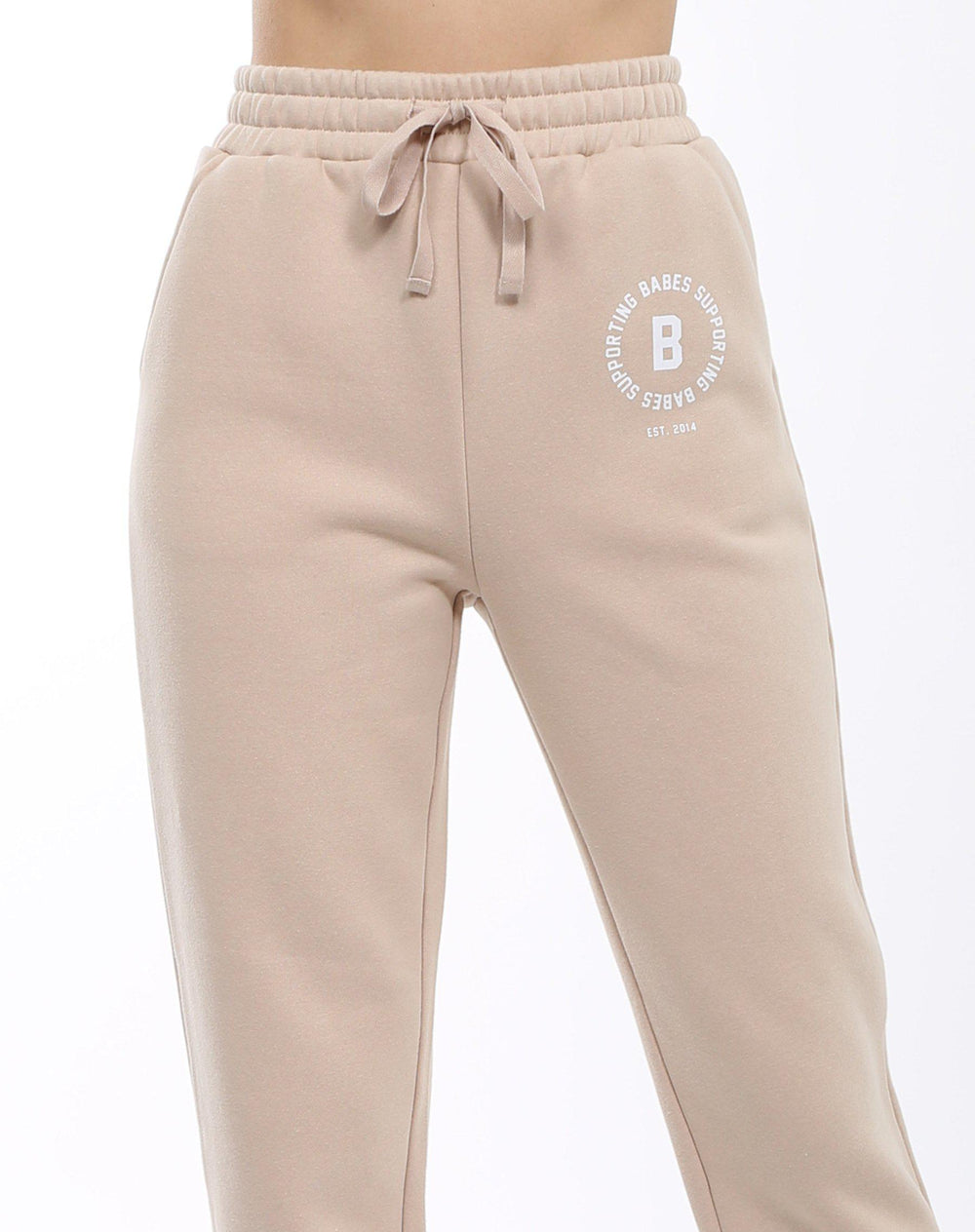 Brunette The Label Babes Supporting Babes Little Sister Joggers-The Trendy Walrus