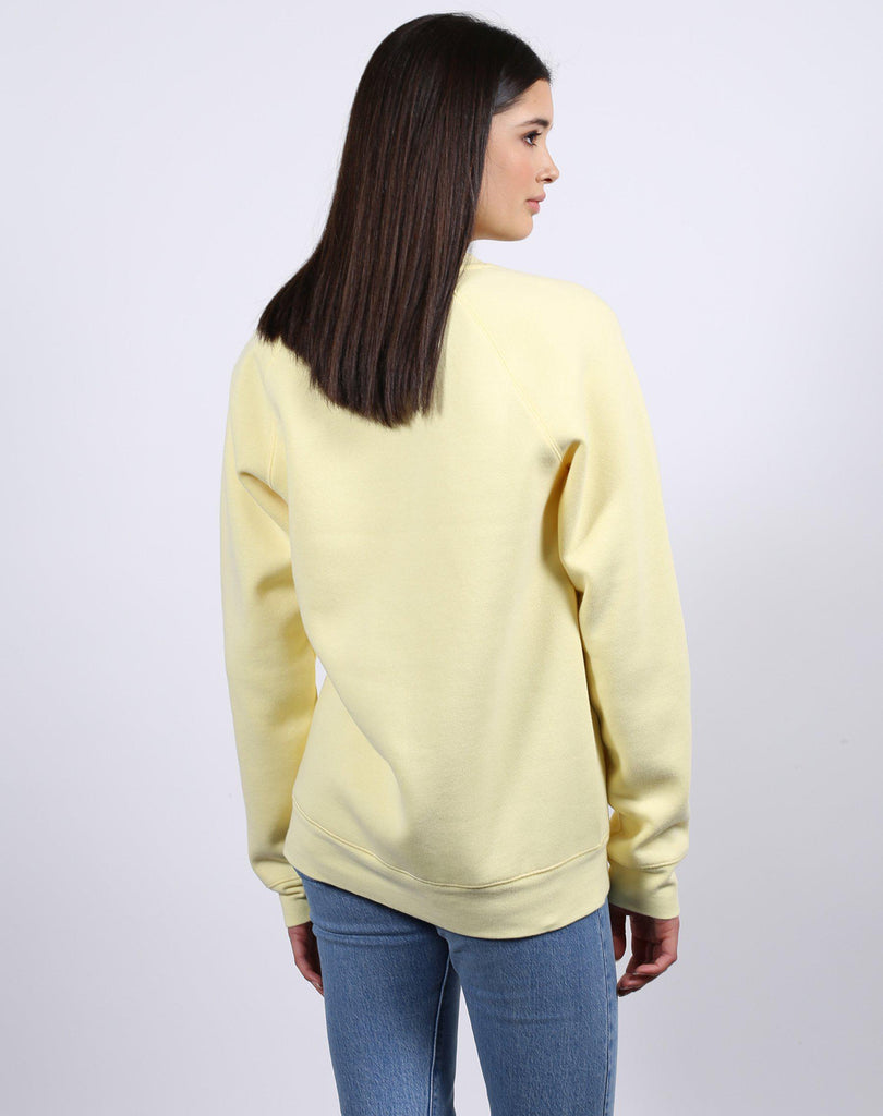 Brunette The Label Brunette Sweatshirt in Lemon-The Trendy Walrus