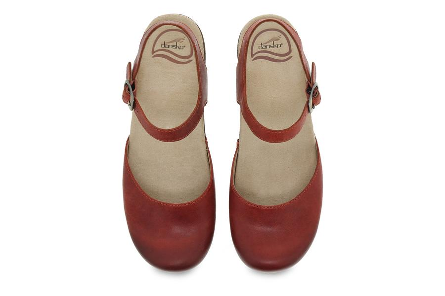 Dansko Sam in Burnished Coral-The Trendy Walrus