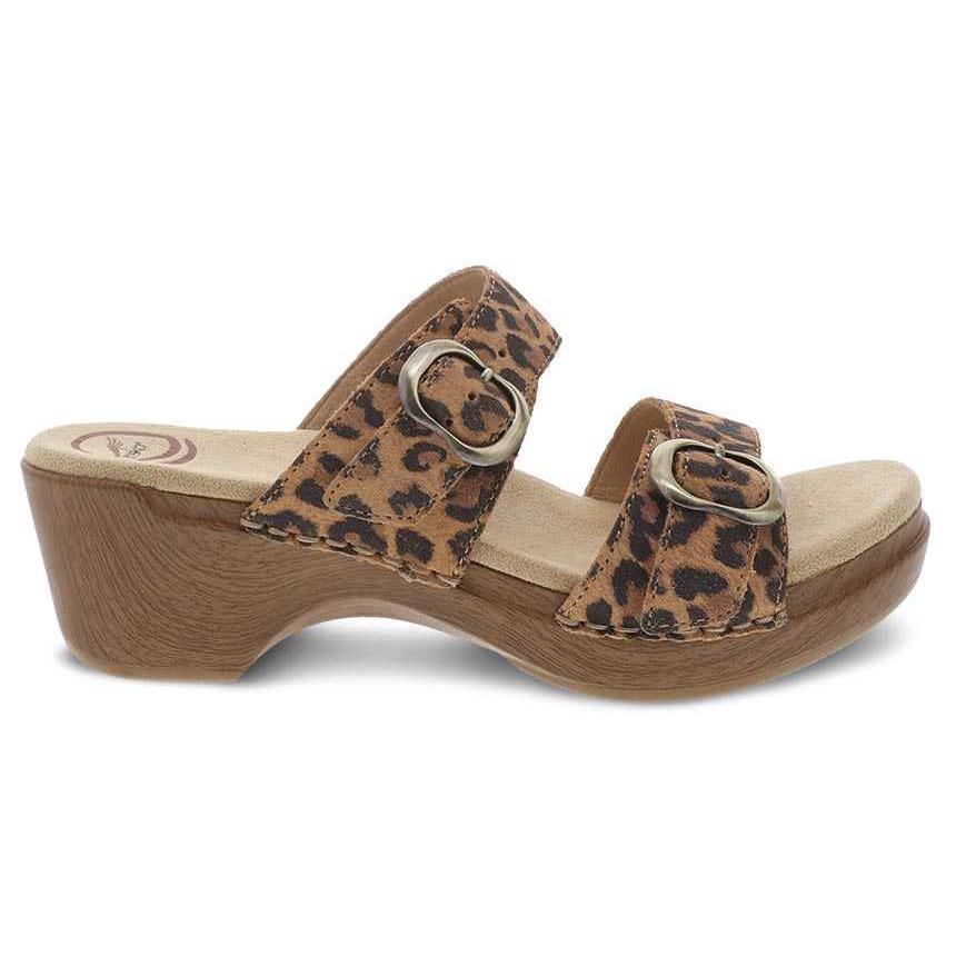 Dansko Sophie Leopard in Suede-The Trendy Walrus