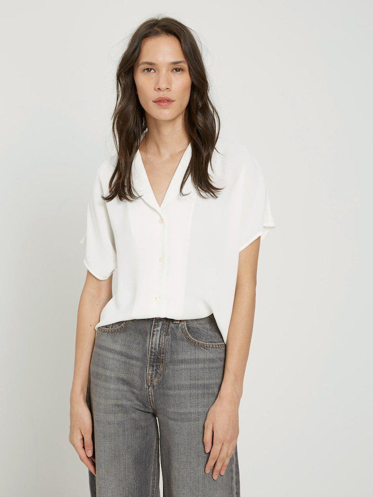 Frank & Oak Camp Collar Blouse-The Trendy Walrus
