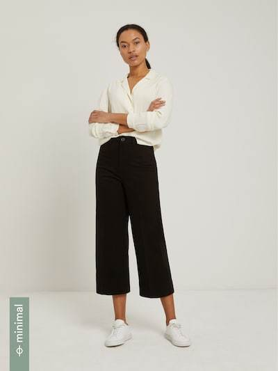Frank & Oak Josephine Cropped Wide Leg Pant-The Trendy Walrus