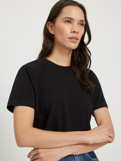 Frank & Oak The Good Cotton Boy Tee in Black-The Trendy Walrus