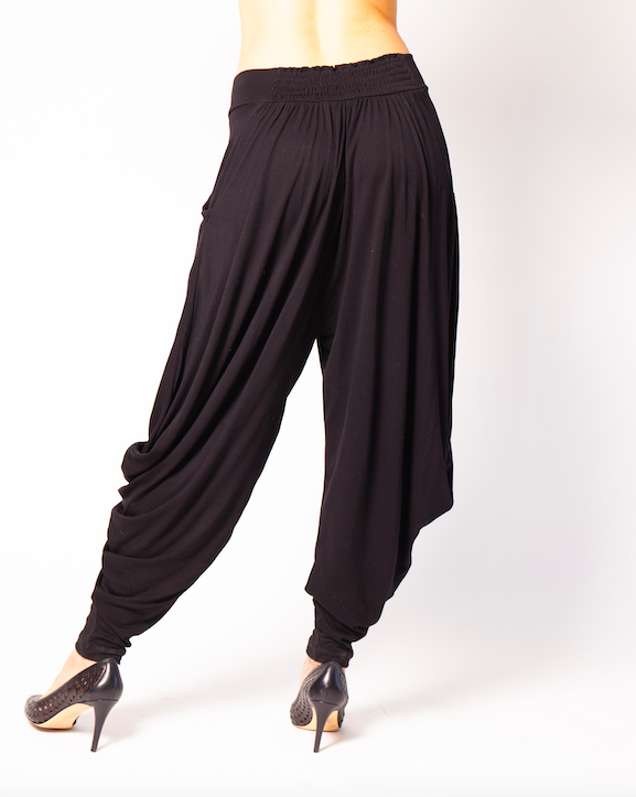 IMA Wear Harem Pants in Black-The Trendy Walrus