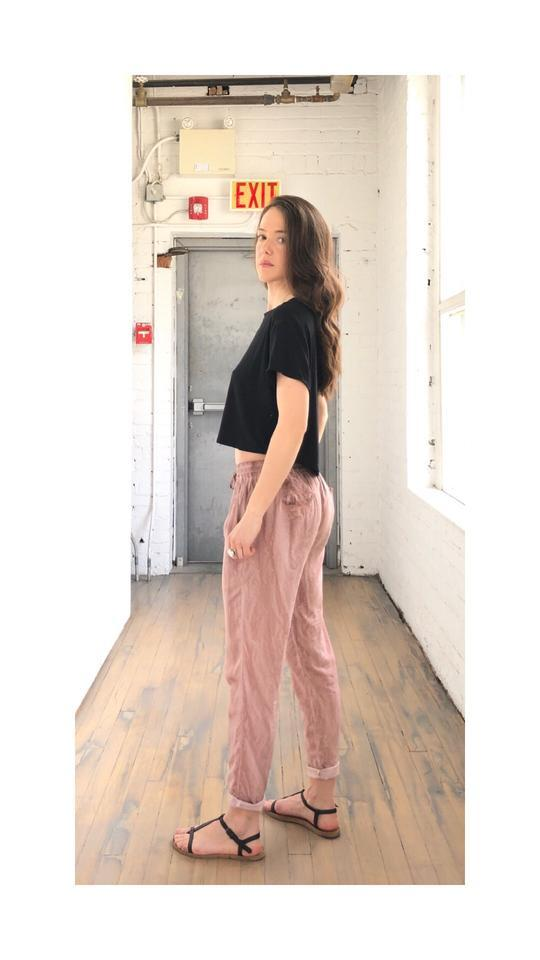 IMA Wear Low Rise Pants in Rose Pigment-The Trendy Walrus