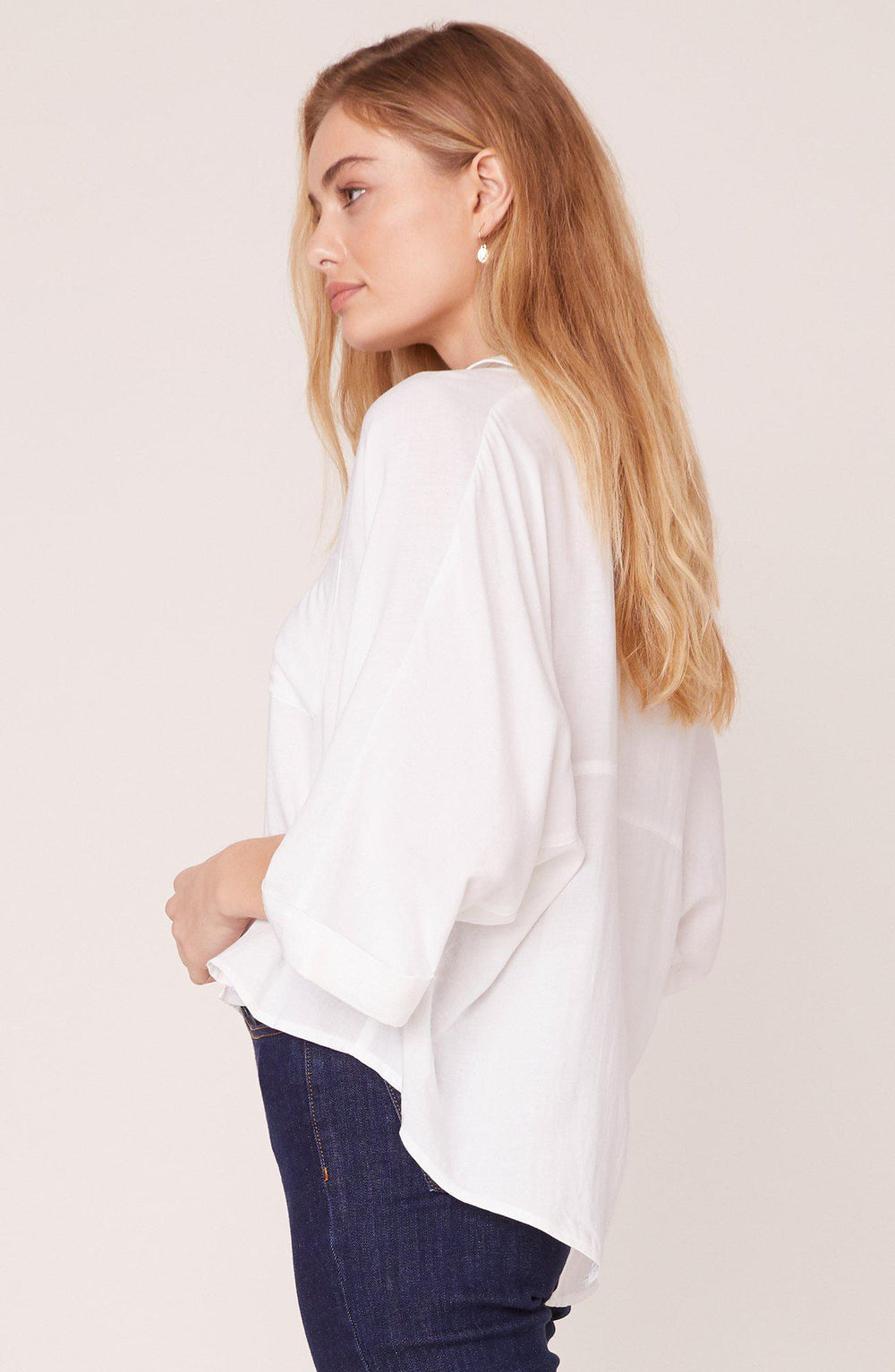 Jack Button Up Split Back-The Trendy Walrus
