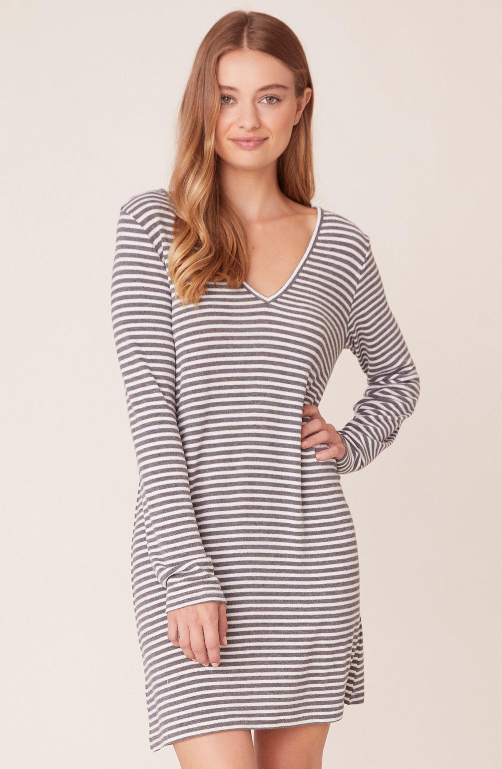 Jack Fireside Cuddle Striped Dress-The Trendy Walrus