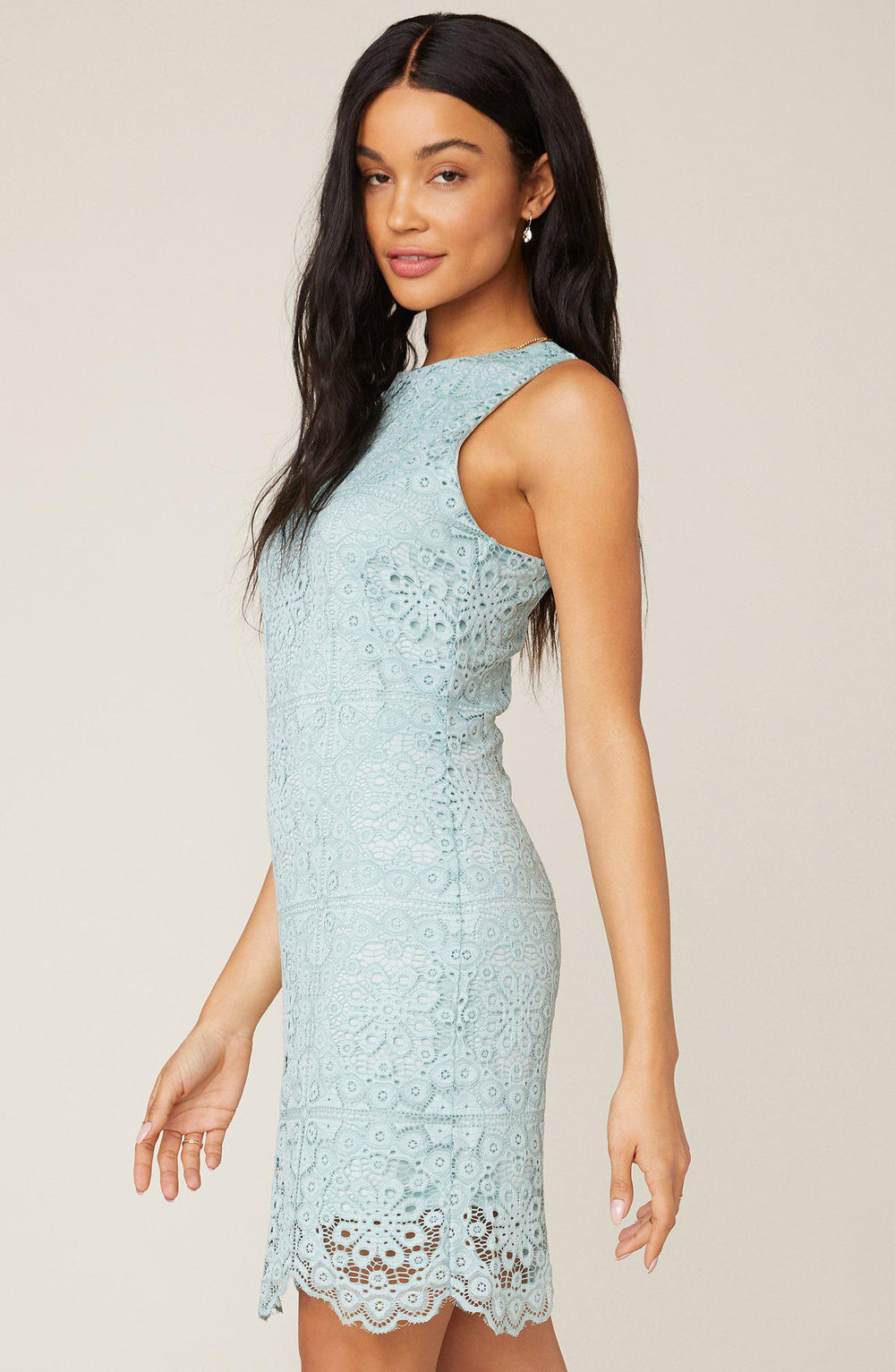 Jack Mint Lace Dress-The Trendy Walrus