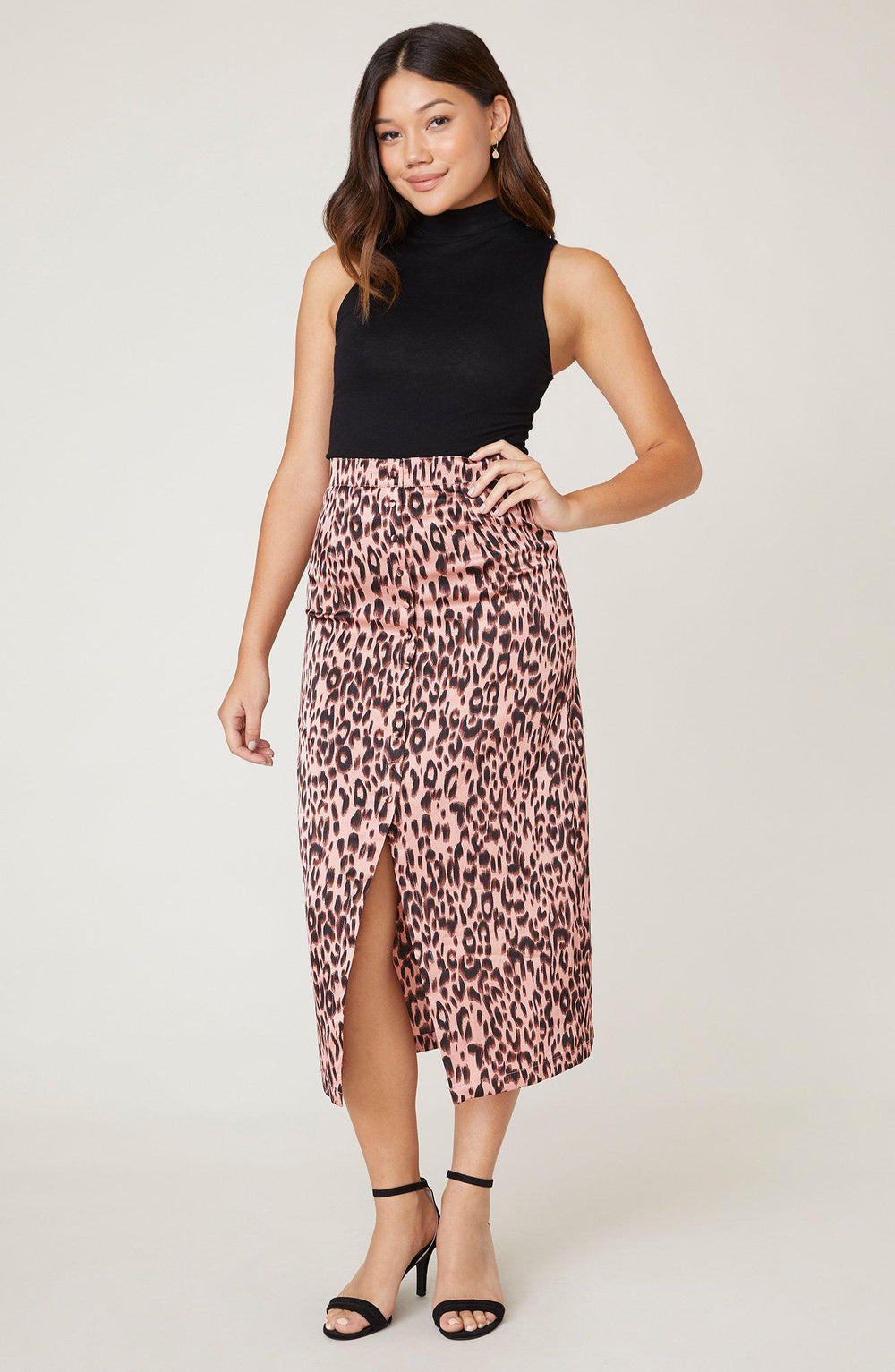 Jack Spotty By Nature Leopard Print Midi Skirt-The Trendy Walrus