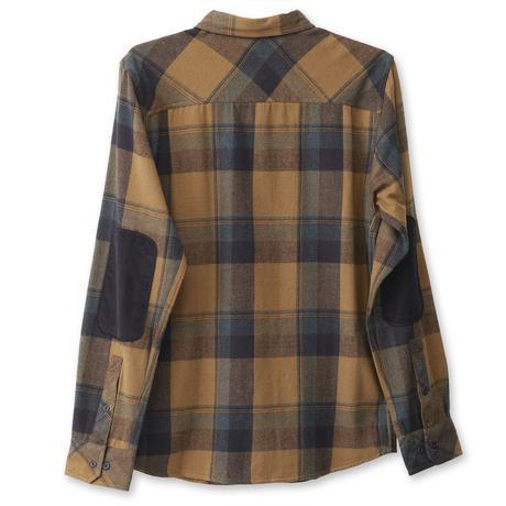 Kavu Baxter Plaid Shirt Jacket in Forager-The Trendy Walrus