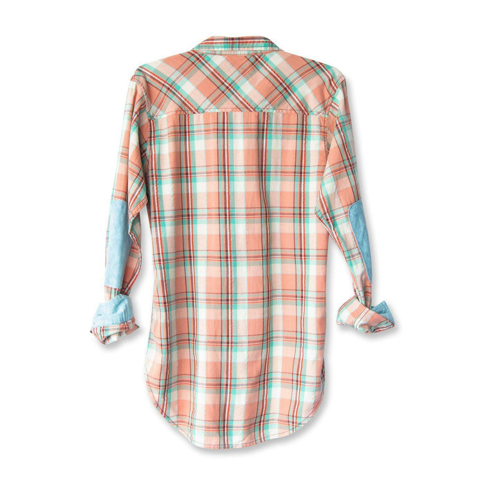 Kavu Billie Jean Plaid in Rustic Surf-The Trendy Walrus