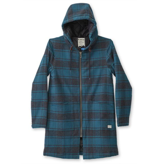 Kavu Deer Haven Coat in Juniper-The Trendy Walrus