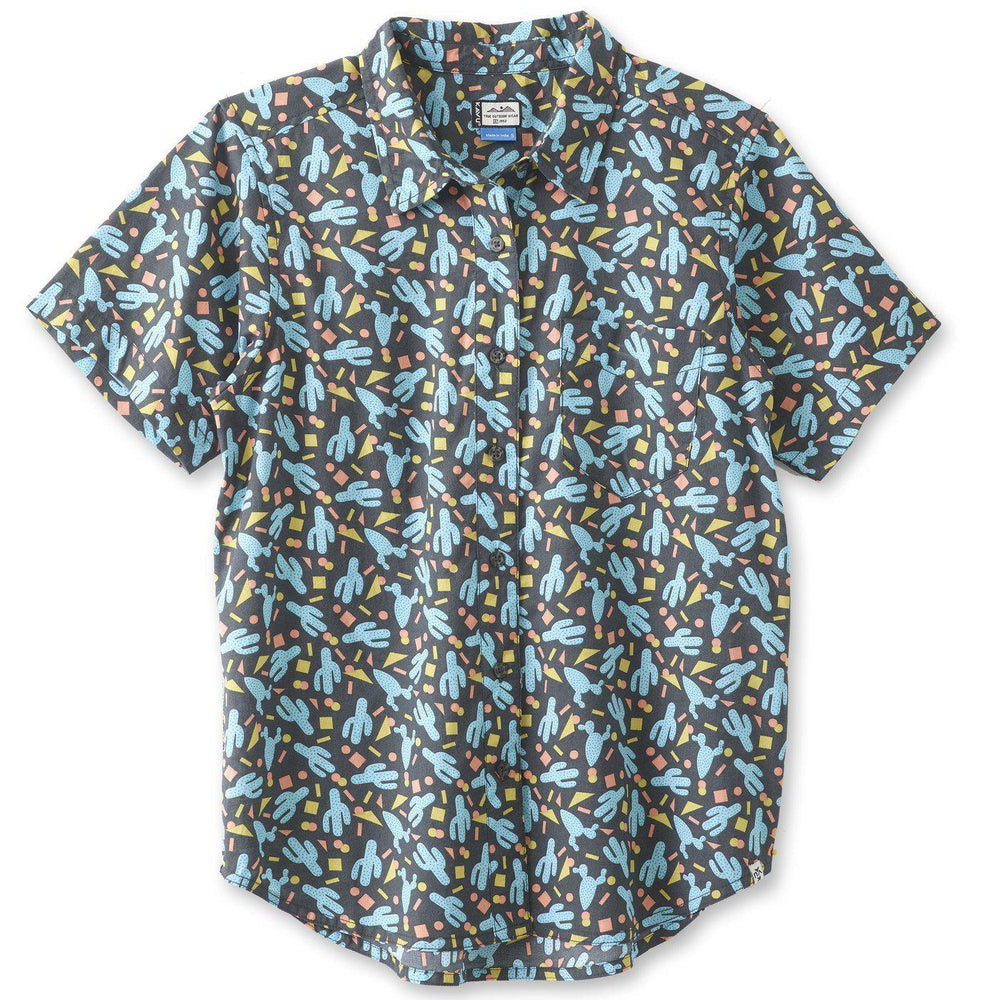 Kavu Girl Party Electric Cactus Shirt-The Trendy Walrus