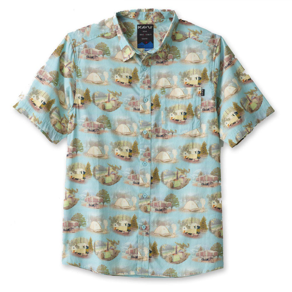 Kavu Jam Shirt With Car Camp Print-The Trendy Walrus