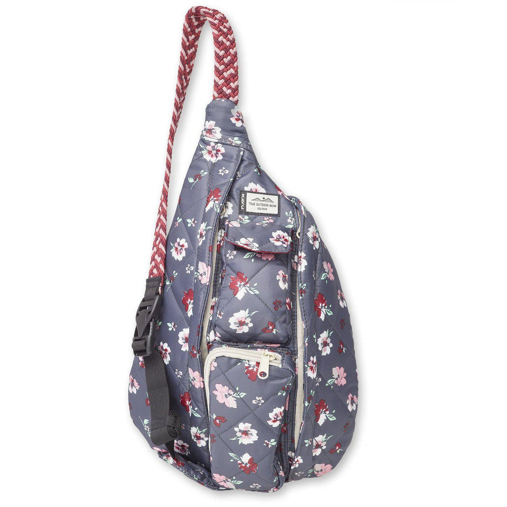 Kavu Mini Rope Puff in Pressed Flowers-The Trendy Walrus