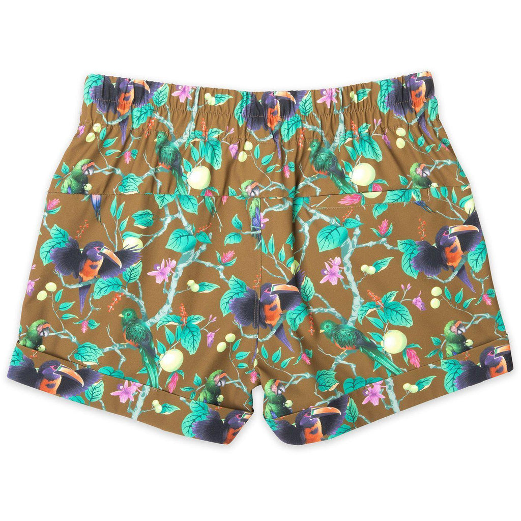 Kavu Tepic Quick Dry Shorts in Rainforest Verde-The Trendy Walrus