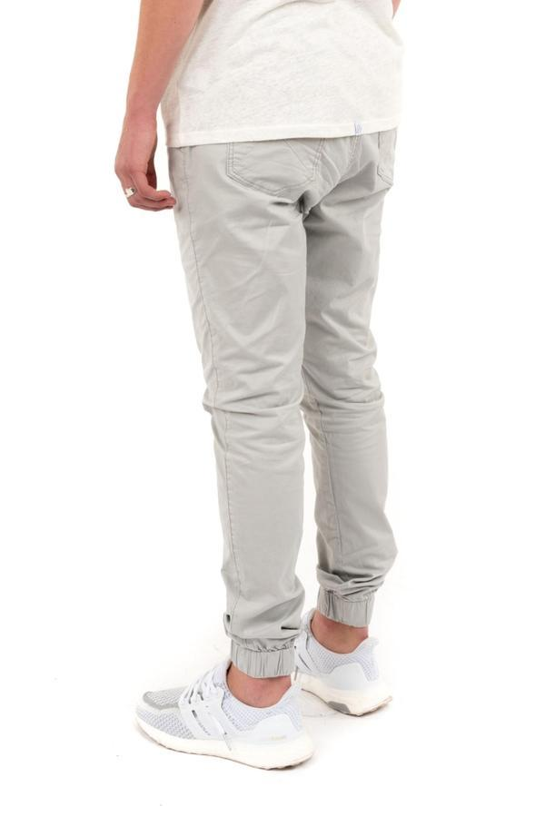 Kuwalla Chino Jogger in Quarry-The Trendy Walrus